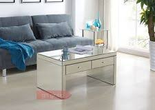 cheap mirrored coffee table mirrored coffee table ebay