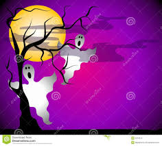 halloween graphic art ghosts halloween night scene stock images image 3234514