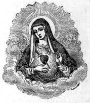 immaculate heart of mary sacred heart of mary sorrowful heart of