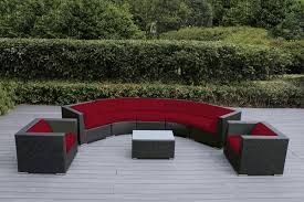 beautiful brand new 8 pc outdoor wicker patio deep seating couch set