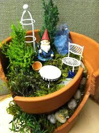 Theme Garden Ideas Broken Pot With Merry Theme For Garden Design Ideas