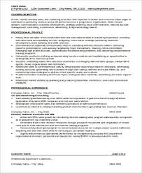 sample sales experience resume 9 examples in word pdf