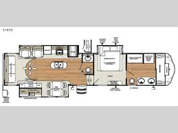 Forest River 5th Wheel Floor Plans Forest River Sandpiper 378fb Fifth Wheel Front Bathroom Plus Much