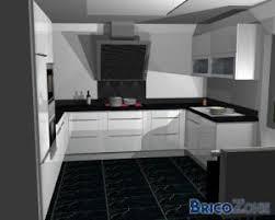cuisine blanche sol noir stunning cuisine carrelage sol noir contemporary matkin info