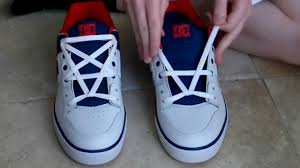shoelace pattern for vans how to pentagram lace shoes youtube