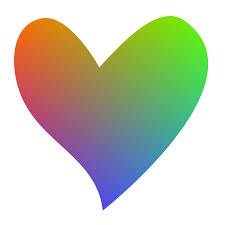 free rainbow heart clipart clipart panda free clipart images