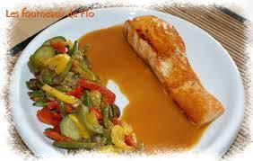 cuisine pav de saumon pavé de saumon sauce au gingembre le p de flo