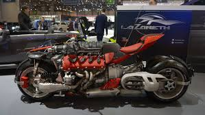 motorcycle with corvette engine the motorcycle with a maserati v8 engine arrives at geneva