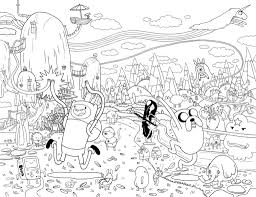 finn and jake coloring pages bebo pandco