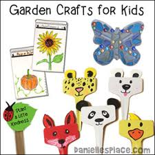 Garden Crafts For Kids - arts and craft projects kids can make