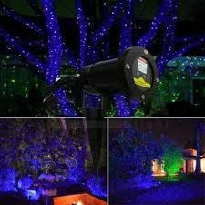 Landscape Laser Light Outdoor Laser Lights For Trees Blue Garden Laser Light Mini Laser