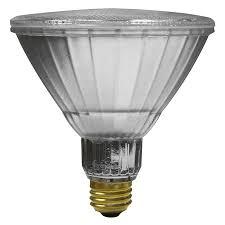 shop utilitech pro 120 w equivalent dimmable soft white par38 led