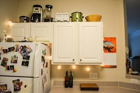 Kitchen Cabinet Undermount Lighting by Apartment Lighting Project Battery Operated Led Under Cabinet Light