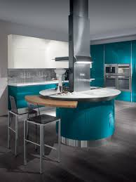 lacquered fitted kitchen flux scavolini line by scavolini design