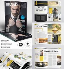 Wedding Magazine Template 20 Magazine Templates With Creative Print Layout Designs