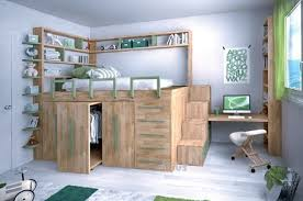 chambre enfant gain de place lit impero de cinius avec modules coulissants gain de place