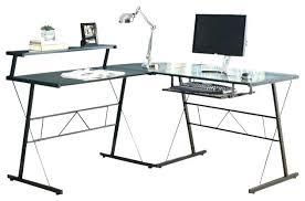 techni mobili black glass corner desk glass computer desk small black glass computer desk altared co