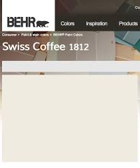 image result for behr swiss coffee paint colour for the house