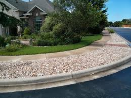 Decorative Rock Landscaping River Rock Is For No Water Not Maintenance In The Landscape Means