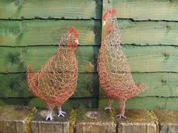 47 best chicken wire images on wire sculptures