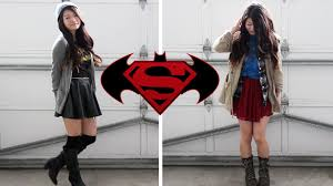 Batman Halloween Costumes Girls Casual Dc Comics Inspired Halloween Batman Superman Ft