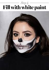 Halloween Skull Face Makeup by Skeleton Makeup Tutorial Halloween 2017 The Prettiest Skeleton