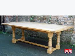 derbyshire handmade plank pine refectory tables by incite