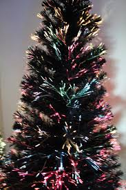 100 fibre optic trees sale black 6ft premier led