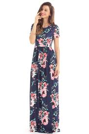 Cheap Plus Size Womens Clothing Online Get Cheap Plus Size Women Maxi Dress Floral Design