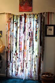 Beaded Window Curtains Curtains Beaded Window Curtains Boho Curtains