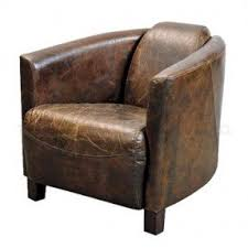 Traditional Leather Armchairs Uk Leather Tub Chairs Foter