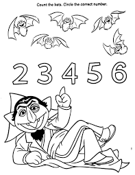 von count coloring pages