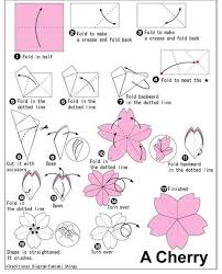origami orchid tutorial 桜の折り方 cherry blossom paper craft 2 cherry blossoms