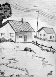 by contemporary artists at the how to draw a christmas landscape