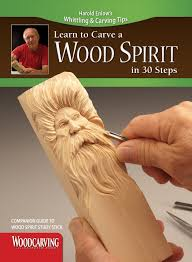 learn to carve a wood spirit booklet companion guide to wood