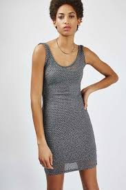 mesh vest dress topshop