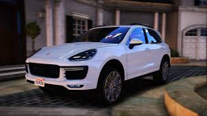 Porsche Cayenne 4x4 - 2016 porsche cayenne turbo s add on replace gta5 mods com