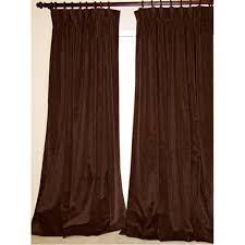 Brown Blackout Curtains Custom Velvet Drapes Velvet Curtains