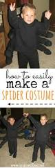 how to make a spider costume quick and easy spider costume