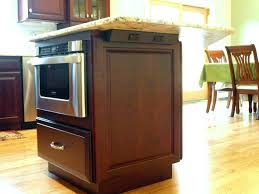 microwave in island in kitchen pull out drawer microwave island with microwave drawer sharp pull