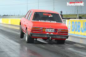 toyota corona v8 chev powered toyota corona at drag challenge street machine
