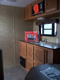 kz rv durango d286bhd fifth wheel kitchen cabinets and also the