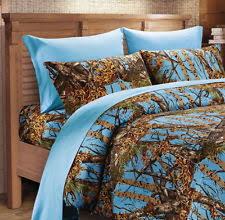 Blue Camo Bed Set Regal Comfort Microfiber Sheet Sets Ebay
