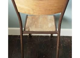 Mayfly Chair French Steel Chair With Brown Frame Mayfly Vintagemayfly