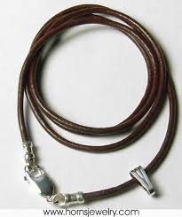 leather necklace cords wholesale images 56 cord for necklaces fashion antique silver pentagram jpg