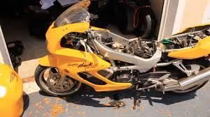 removing carburetors on honda vtr 1000 f superhawk youtube