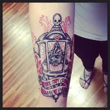 lantern tattoo by vonbloodmusic on deviantart