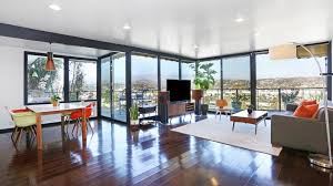 home of the day a midcentury modern duplex in silver lake la times