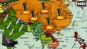 Map Of China And India by India Planning Missile To Target All Of China Youtube