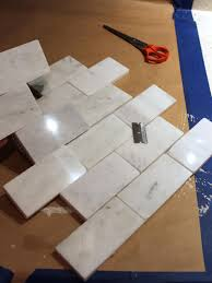 how to install a marble tile backsplash hgtv